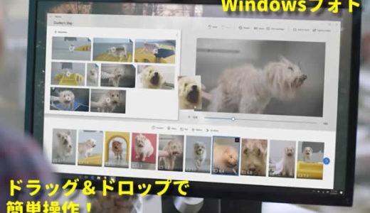 仕事効率アップ!Windowsフォトでプレゼン資料やマニュアル作り